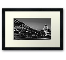On the way to the Cathedral Framed Print