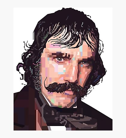DANIEL DAY-LEWIS BILL THE BUTCHER GANGS OF NEW YORK GRAPHIC ART T SHIRT Photographic Print