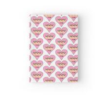 HEART PUGS Hardcover Journal