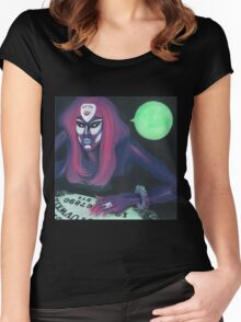 Ouija Women's Fitted Scoop T-Shirt