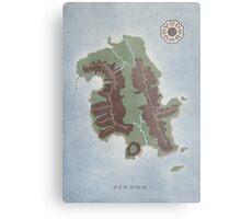 Lost Island Dharma Metal Print