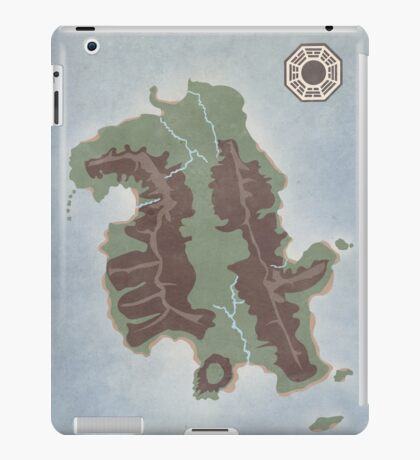 Lost Island Dharma iPad Case/Skin