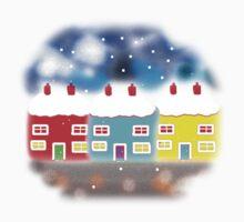 WELCOME HOUSES.  t shirt/sticker/baby grow Kids Tee