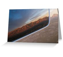 Passing Tucson Greeting Card