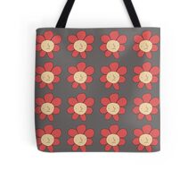 Tiled FLOWERMAN Tote Bag