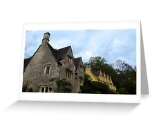 Castle Coombe, England Greeting Card