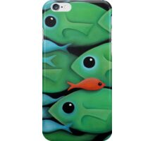Green Fish 1 iPhone Case/Skin