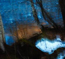 Evaporation by photojam