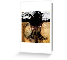 HOLY LAMB I LOVED YOU ONCE Greeting Card