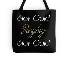 The Outsiders Tote Bag