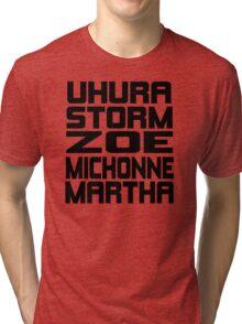 Black Women of Sci Fi Tri-blend T-Shirt