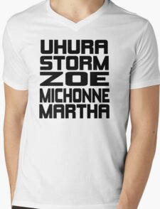 Black Women of Sci Fi Mens V-Neck T-Shirt