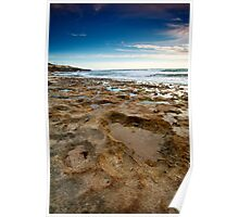 Craters - North Beach, Perth, Western Australia Poster