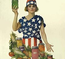 United States Department of Agriculture Poster 0094 Fruits of Victory National War Garden Commission by wetdryvac
