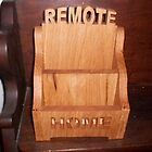 Remote controls caddy by FineCrafts