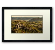 The View from Harney Peak Framed Print