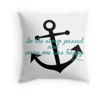 Kate Chopin Throw Pillow