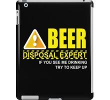 Beer Drinking iPad Case/Skin