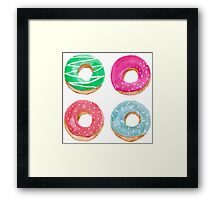 sprinkles are important Framed Print