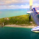 Over Cape Florida by Bill Wetmore