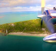 Over Cape Florida by njordphoto