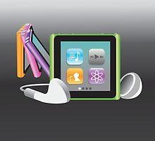 iPod Nano by jessikachu