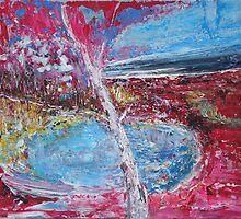 Red Birch by Dmitri Matkovsky