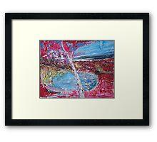 Red Birch Framed Print