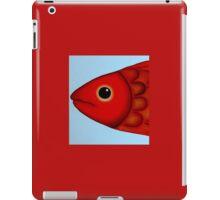 Red Fish Head iPad Case/Skin