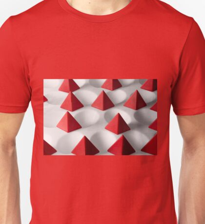 Dimple Them Pyramids Unisex T-Shirt