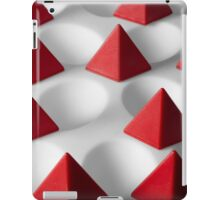Dimple Them Pyramids iPad Case/Skin