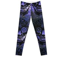 Sugar Skull Galaxy Leggings