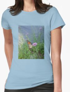Blurred - Caught in Motion Womens Fitted T-Shirt