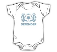 DEFENDER soccer ball wreath One Piece - Short Sleeve