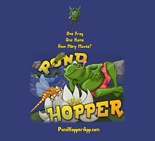 Pond Hopper for iPhone and iPad Unisex T-Shirt