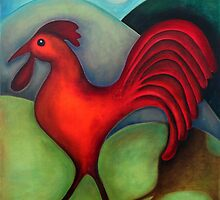 Red Rooster by Georgie Greene