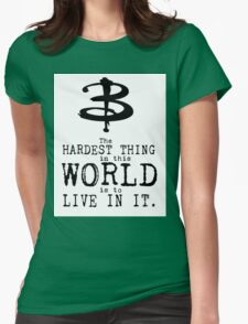 Buffy the Vampire Slayer Typography T-Shirt