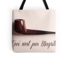 Ceci n'est pas Magritte - pipe Tote Bag