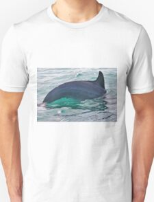 Green Water Dolphin Unisex T-Shirt