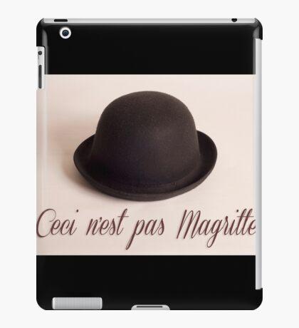 Ceci n'est pas Magritte - chapeau iPad Case/Skin