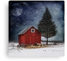 all is calm, all is bright... Canvas Print