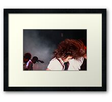 Give it all you've got Framed Print