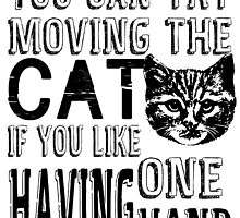 Funny Cat Poster by geekchicprints
