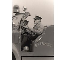 old fireman Photographic Print