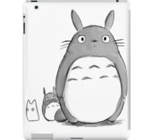 Totoro and Sprite iPad Case/Skin
