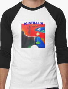 AUSTRALIA  Men's Baseball ¾ T-Shirt