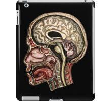 Sagittal head section iPad Case/Skin