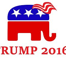 Vote Trump 2016 by th3catpack