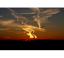 Vapour Trails Photographic Print