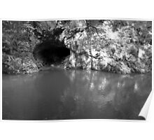 Cave mouth - Slovak Paradise Poster